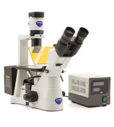 microscópio invertido