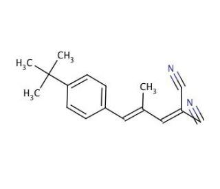 Trans-2- [3- (4-Terc-Butilfenil) -2-Metil-2-Propenilideno] Malononitrila - Fr/1G